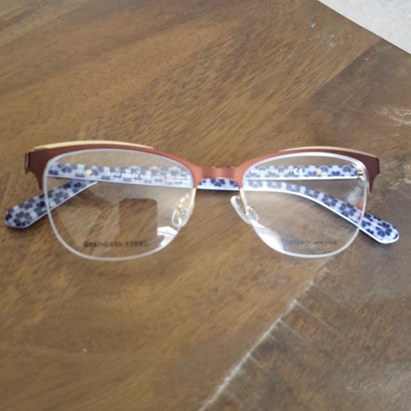 Kate Spade Brieana semi rimless eyeglass frames